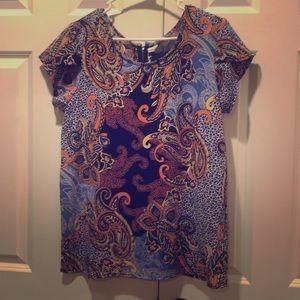 Women's L Japna blouse paisley